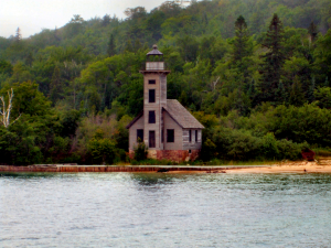 Grand Island East Channel Lighthouse - 300 x 225